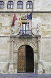 Historical building in leon Stock Photography