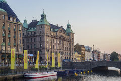 Historical building of Malmo Royalty Free Stock Images