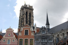 Historical building (Mechelen) Stock Photos