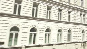 Historical building of military barracks in the city of Vienna. VIENNA, AUSTRIA - MAY 2018 historical building of military barracks in the city of Vienna view stock video footage