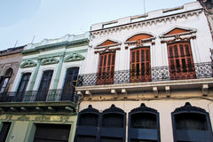 Historical Building Montevideo Uruguay Stock Photography