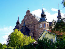 Historical building museum in Stockholm city Royalty Free Stock Photo
