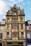 Historical building in the New Town of Edinburgh Royalty Free Stock Photo