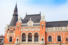 Historical building in Oradea, Romania Royalty Free Stock Images