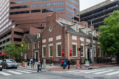 Historical Building Philadelphia Pennsylvania Royalty Free Stock Photo