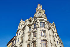 Historical building, Porto, Portugal Stock Photos