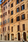 Historical building in Rome Royalty Free Stock Images