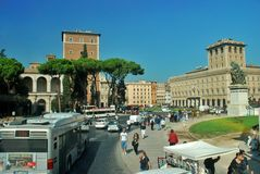 Historical Building in Rome, Italy Stock Photography