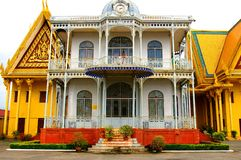 Historical building in Royal Palace complex Stock Images