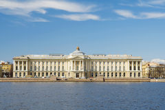 Historical building, Saint-Petersburg, Rus Royalty Free Stock Image