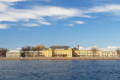 Historical building, Saint-Petersburg, Rus Stock Images