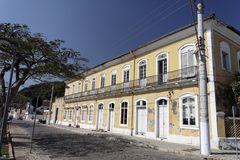 Historical Building in Sao Francisco do Sul Royalty Free Stock Images