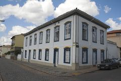 Historical Building Sao Joao del Rey Royalty Free Stock Image