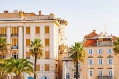 Historical building in Split, Croatia. Picture of historical building in Split Old Town, Croatia on summertime Stock Photo