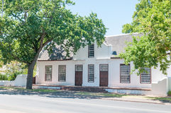 Historical building in Stellenbosch Stock Photography