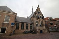 Historical building in the village of Haastrecht along the Hoogstraat in the Netherlands. Historical building in the village of Haastrecht along the Hoogstraat stock image