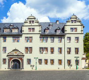 Historical building in Weimar, Germany.  Stock Images