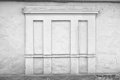 Historical building white wall Royalty Free Stock Photos
