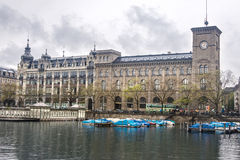Historical Building Zurich Stock Images