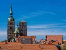 Historical buildings Royalty Free Stock Photography