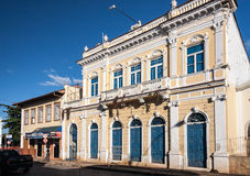 Historical Buildings in Amparo Stock Photo
