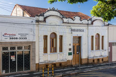 Historical Buildings in Amparo Royalty Free Stock Photography