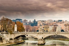 Historical buildings and architecture details in Rome, Italy Royalty Free Stock Photo