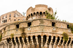 Historical buildings and architecture details in Rome, Italy Stock Image
