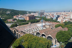 Historical Buildings Barcelona Spain Royalty Free Stock Image