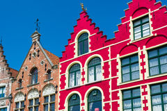 Historical buildings in Bruges Royalty Free Stock Images