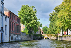 Historical buildings in Brugge Royalty Free Stock Photography