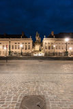Historical buildings in the city Brussels, Belgium Royalty Free Stock Photos