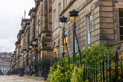 Historical buildings in Edinburgh, Scotland Royalty Free Stock Photos