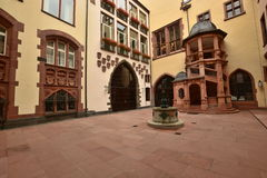 Historical buildings in Frankfurt on the Main, Germany Royalty Free Stock Photo