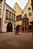 Historical buildings in Frankfurt on the Main, Germany Stock Photos