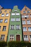 Historical buildings in Gdansk Royalty Free Stock Images