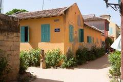 Historical buildings on Gorée Island Royalty Free Stock Photography