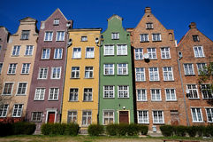 Historical Buildings In Gdansk Royalty Free Stock Photo