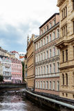 Historical Buildings in Karlovy Vary, Carlsbad Royalty Free Stock Image