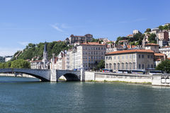 Historical buildings Lyon France Royalty Free Stock Image