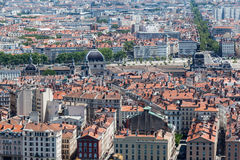 Historical buildings Lyon France Royalty Free Stock Photography