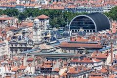 Historical buildings Lyon France Royalty Free Stock Photos