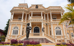Historical buildings in Manaus Stock Photo