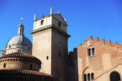 Historical buildings, Mantova, Italy Stock Photo