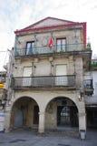 Historical buildings near port of Vigo, Vigo, Galicia, Spain royalty free stock photography
