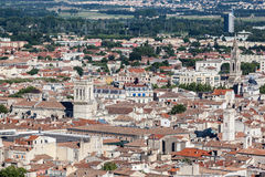 Historical Buildings Nimes France Royalty Free Stock Photo