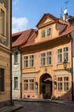 Historical buildings in old town in Prague, Czech republic Royalty Free Stock Photography