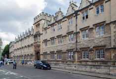 Historical Buildings Oxford University England Stock Photos