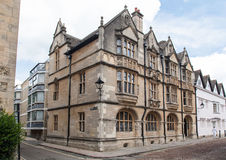 Historical Buildings Oxford University England Royalty Free Stock Photo