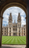 Historical Buildings Oxford University England Stock Photography